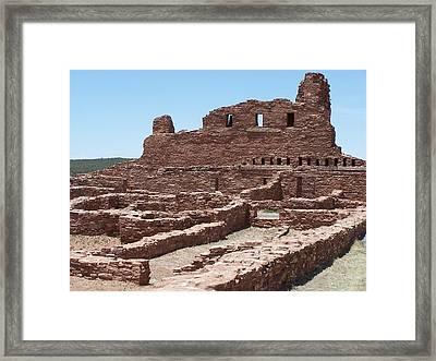 Abo Ruins 2 Framed Print by Jennifer Patterson