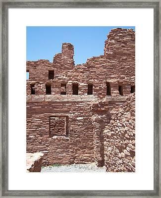 Abo Ruins 3 Framed Print by Jennifer Patterson