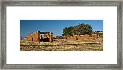 Abo Ruins 4 Framed Print by Don Durante Jr