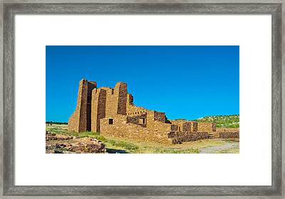 Abo Ruins 7 Framed Print by Don Durante Jr