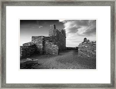 Abo Ruins New Mexico     Framed Print by Mark Goebel