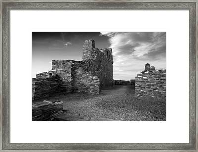 Abo Ruins New Mexico Usa Framed Print by Mark Goebel