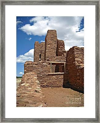 Abo Stone Tower Framed Print