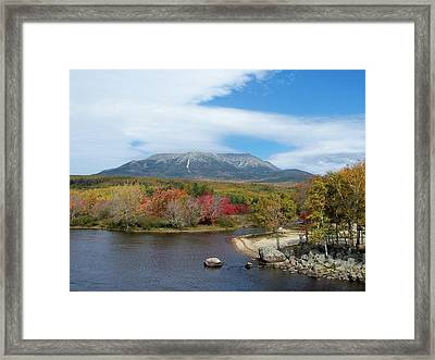 Framed Print featuring the photograph Abol by Gene Cyr
