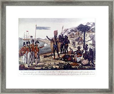 Abolition Of Slavery, 1815 Framed Print by Granger