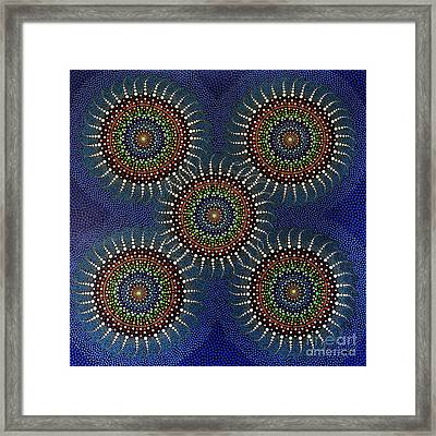Aboriginal Inspirations 16 Framed Print