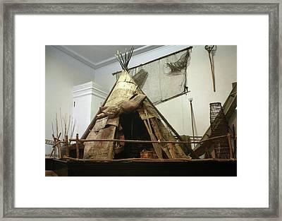 Aboriginal Yurt, C1773-75 Framed Print by Granger