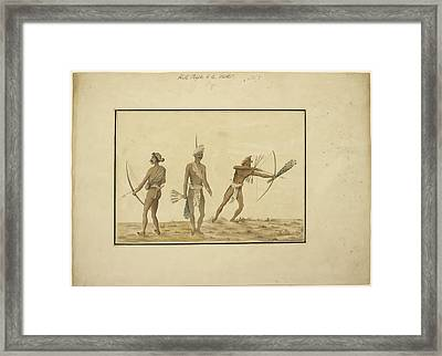 Aboriginals Of Orissa Framed Print by British Library