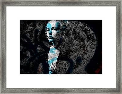 About A Woman 15 - Temper Framed Print by Nina Frescamente