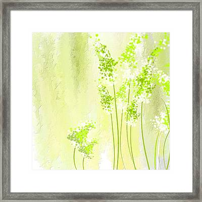 About Spring Framed Print
