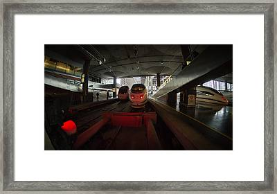 About To Depart Framed Print by Pablo Lopez