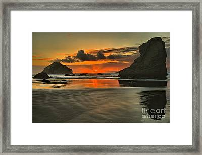 About To Go Out Framed Print by Adam Jewell