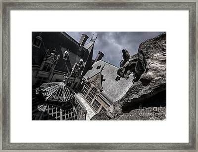 About To Pounce Framed Print by Doug Sturgess