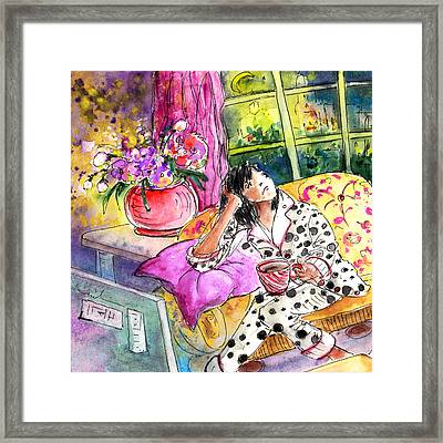 About Women And Girls 11 Bis Framed Print