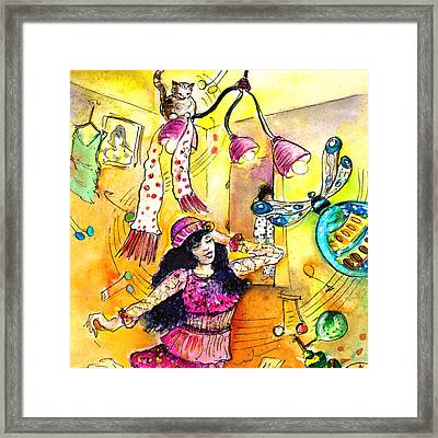 About Women And Girls 12 Bis Framed Print