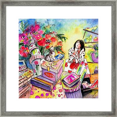 About Women And Girls 13 Framed Print