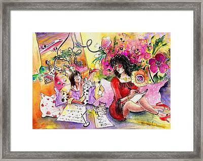 About Women And Girls 16 Framed Print