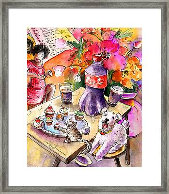 About Women And Girls 19 Bis Framed Print