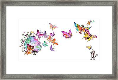 About Women And Girls 20 Framed Print