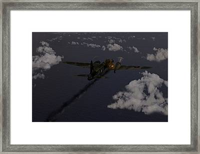 Above And Beyond - Jimmy Ward Vc Framed Print by Gary Eason