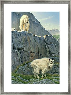 Above And Beyond Framed Print by Paul Krapf