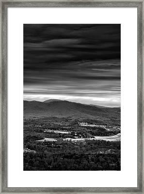 Above Asheville Framed Print by Steven Llorca