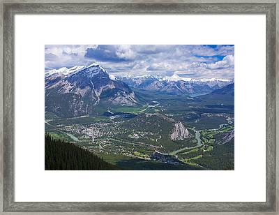 Above Banff Framed Print