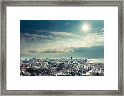 Above Grado Framed Print