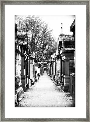 Above Ground Framed Print by John Rizzuto