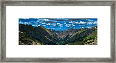 Framed Print featuring the photograph Above It All by Don Schwartz