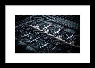 Airport Framed Prints