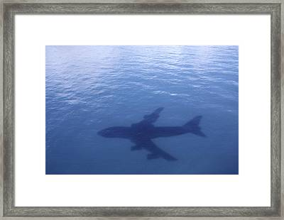 Above Mean Sea Level Framed Print by Daniel Furon