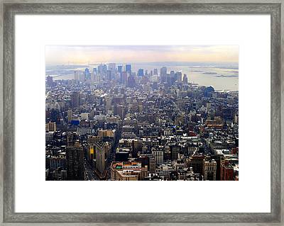 Above New York Framed Print
