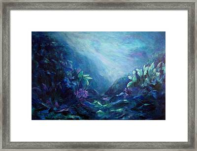 Above Or Below Framed Print