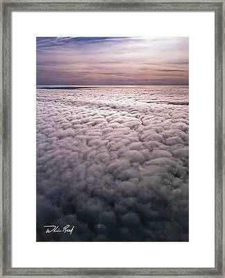Above The Clouds 1 Framed Print by William Reek