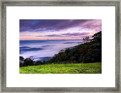 Above The Clouds Framed Print by Everett Houser