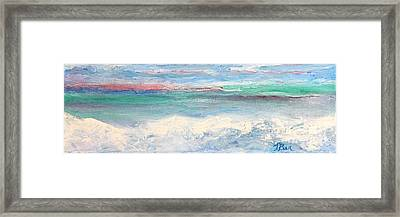Above The Clouds I Framed Print