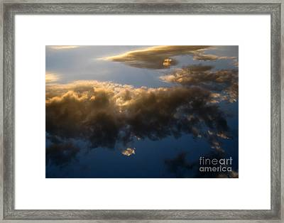 Framed Print featuring the photograph Above The Clouds by Janice Westerberg