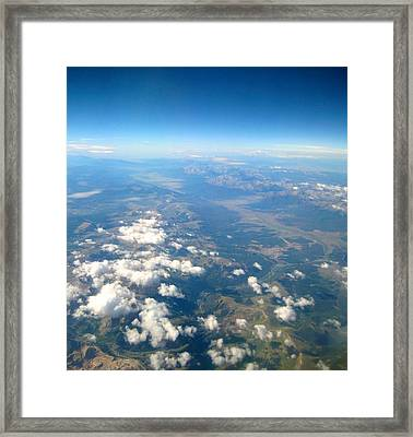 Above The Clouds Framed Print by Michele Stoehr