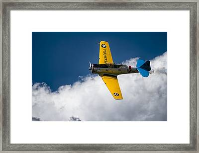 Above The Clouds Sky Is Alwasy Blue Framed Print by Eduard Moldoveanu