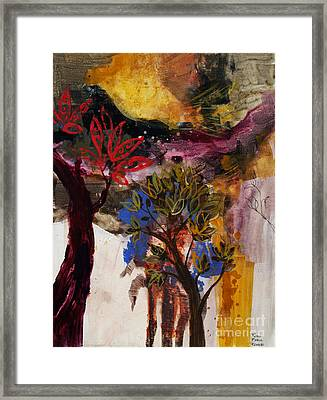 Above The Tree Tops Framed Print by Robin Maria Pedrero
