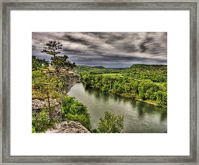 Above The White Framed Print by William Fields