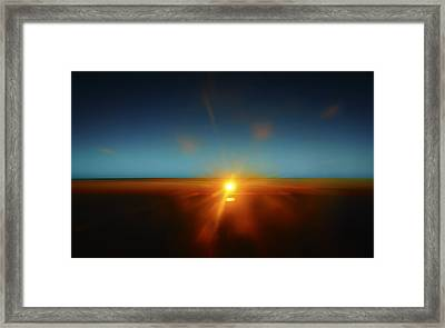 Above The World Framed Print