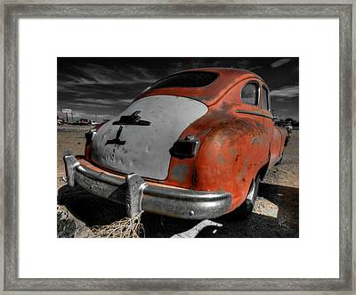 Abq - '49 Dodge Coronet Framed Print by Lance Vaughn