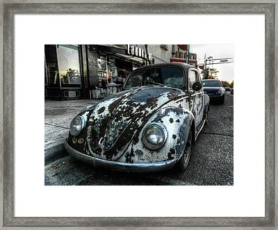 Abq - Rat Bug Framed Print by Lance Vaughn