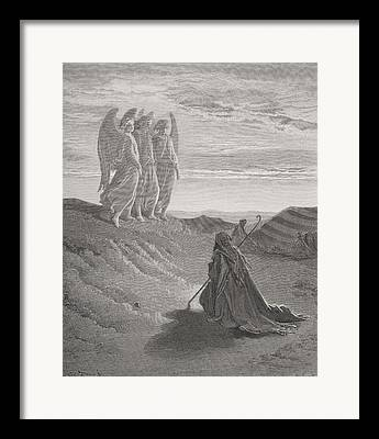 Prophecy Drawings Framed Prints