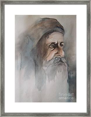 Abraham Framed Print by Annemeet Hasidi- van der Leij