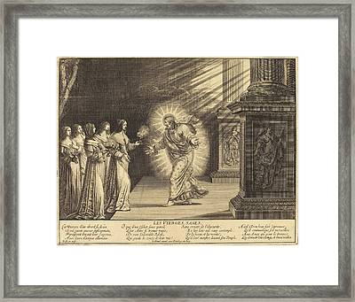Abraham Bosse French, 1602 - 1676, The Wise Virgins Framed Print by Quint Lox
