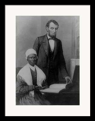 Sojourner Truth Digital Art Framed Prints