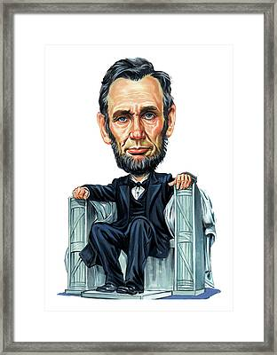 Abraham Lincoln Framed Print by Art